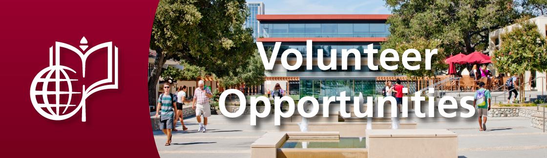 Volunteer Opportunites